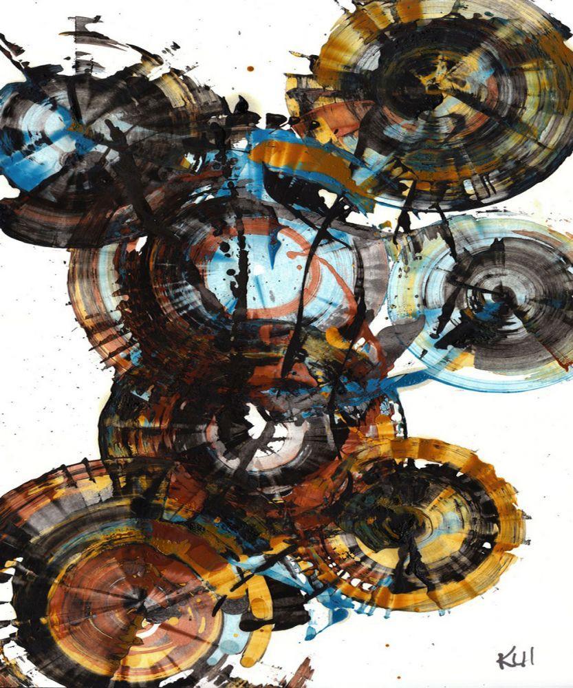 Sphere Series Painting 995042312