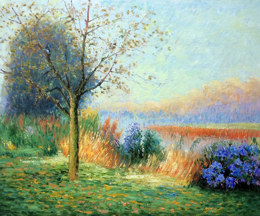 October Morning on the River Leie, 1901