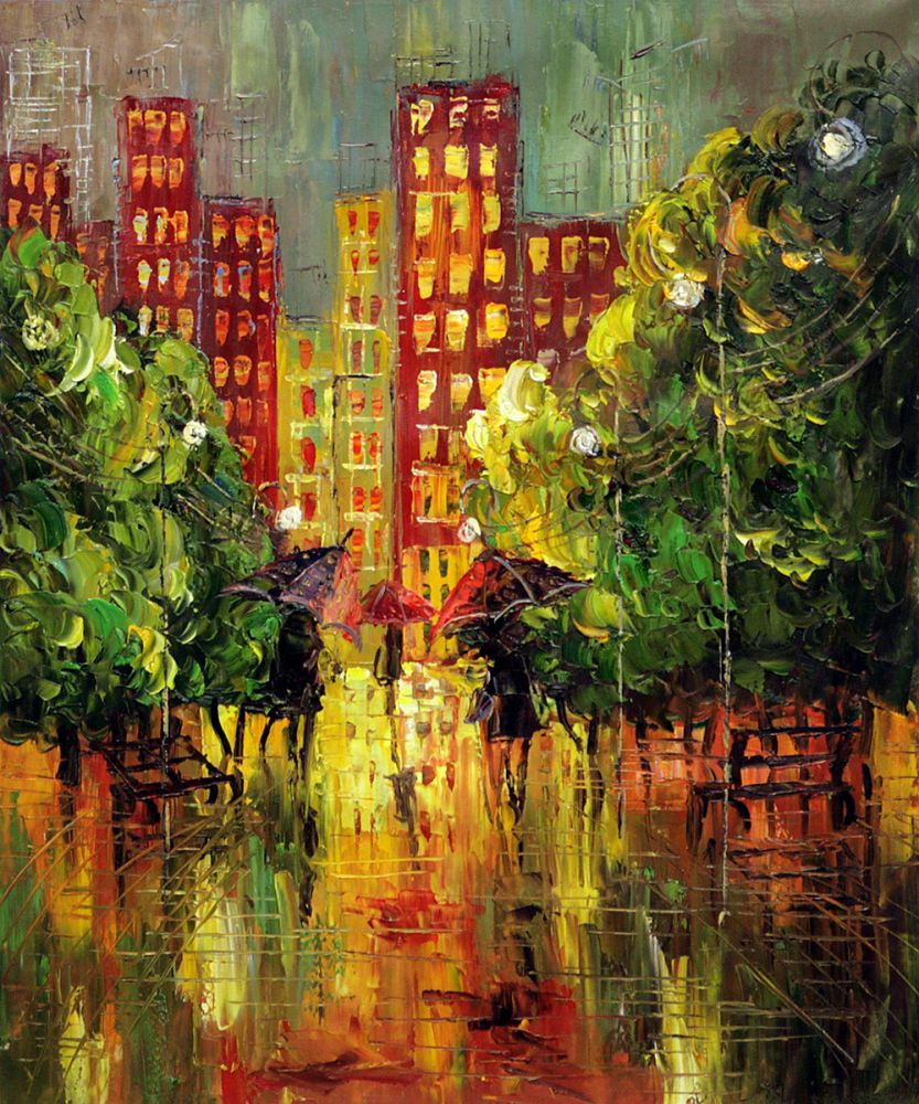 Rain, In The City