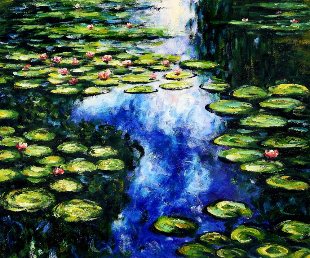 The Water Lily Pond (green)