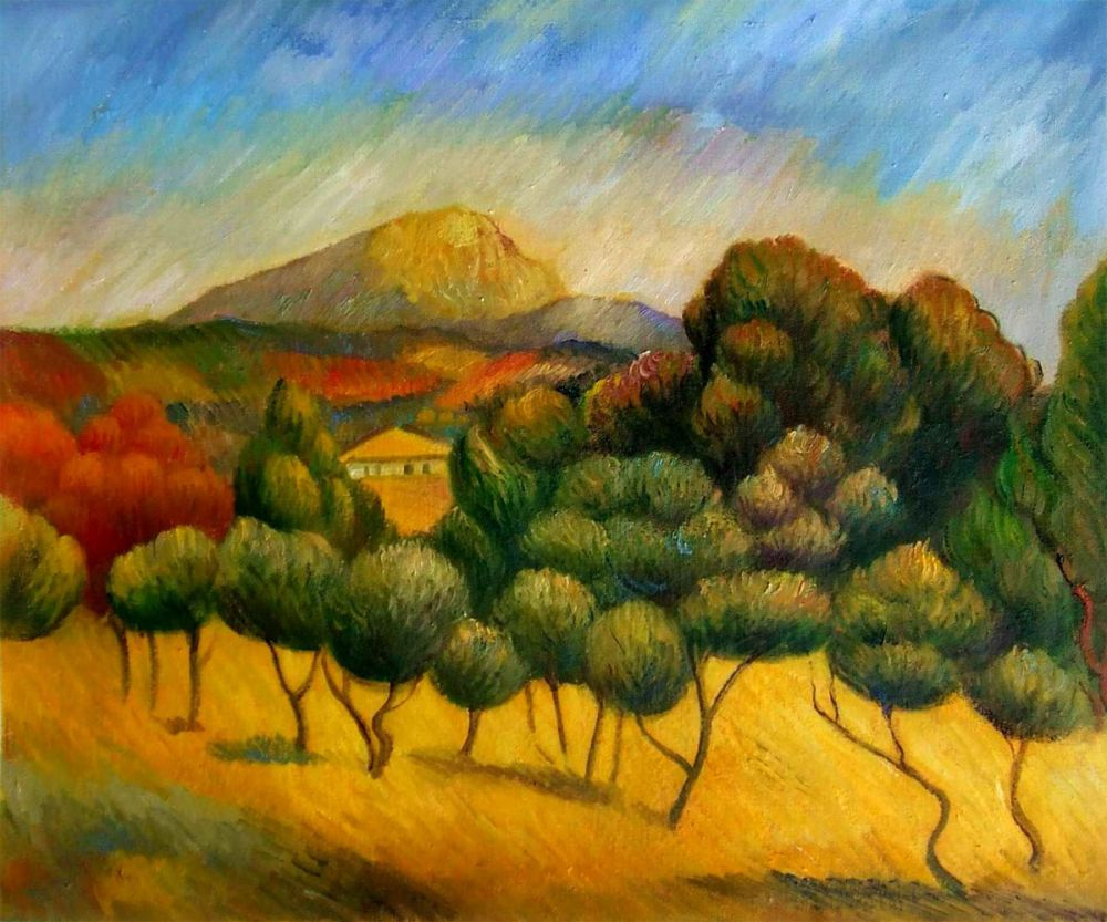 Il Monte Sainte-Victoire
