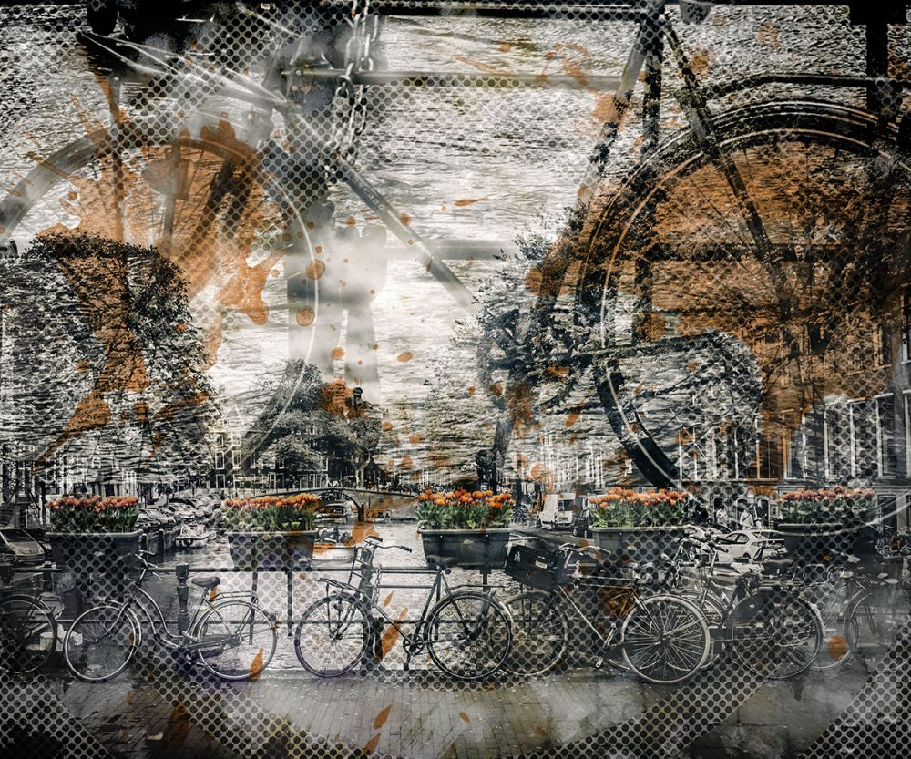 City Art, Amsterdam Bicycles