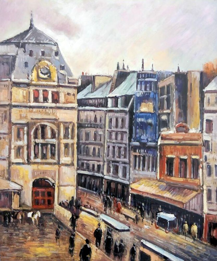 View of Paris, Rue d-Amsterdam