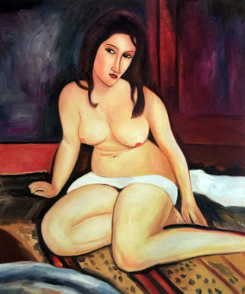 Seated Nude, 1917