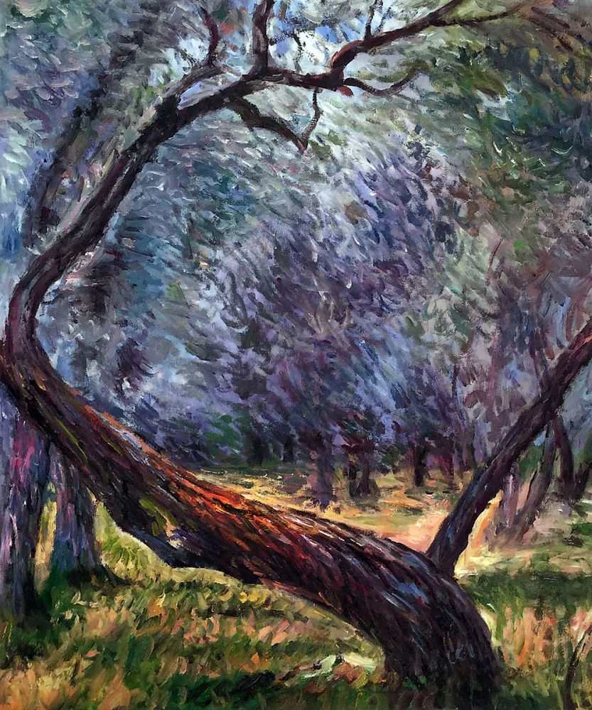 Olive Trees (Study)
