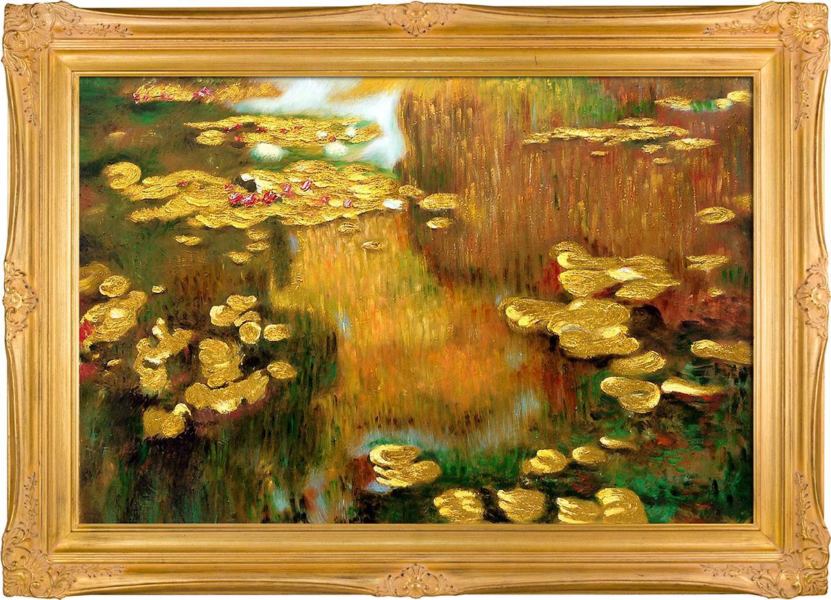 Water Lilies (Luxury Line) Pre-Framed