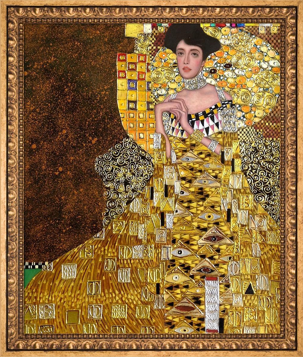 Portrait of Adele Bloch Bauer I (Luxury Line) Pre-Framed