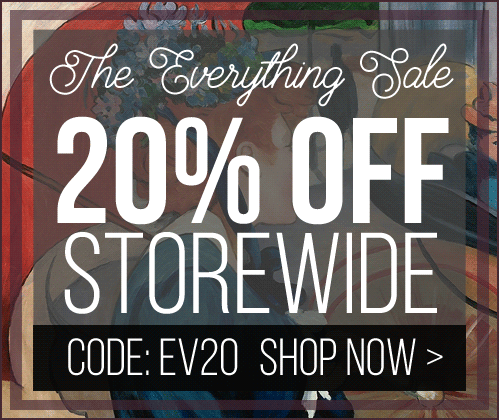 The Everything Sale - Save 20% Storewide for a Limited Time. Code: EV20