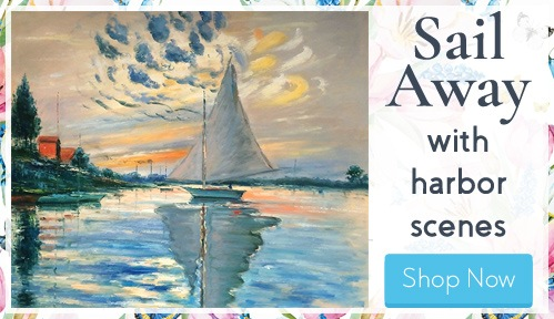Sail to Distant Shores with Harbor Art
