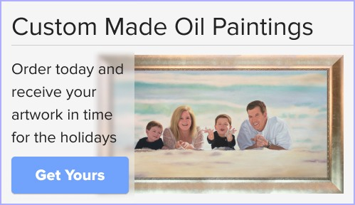 Make Your Own Masterpiece - Custom Paintings in Time for the Holidays