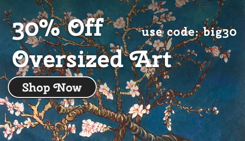 Make an Impression with 30% Off our Largest Art