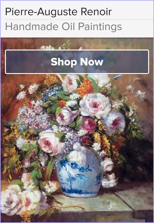 Pierre-Auguste Renoir Oil Painting Reproductions