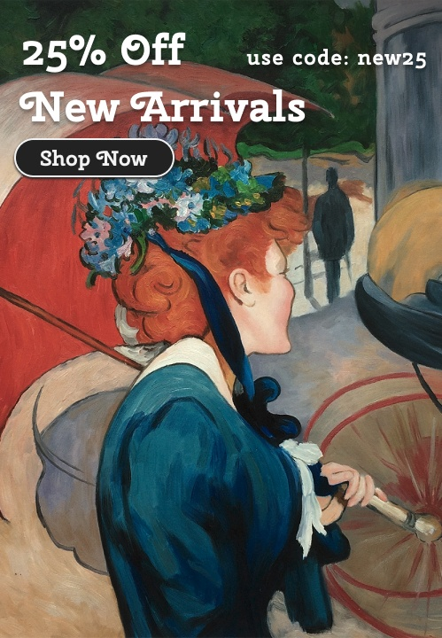 Save 25% on All New Arrivals - Paintings, Tiles, and More