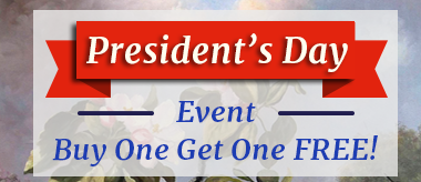 President's Day Buy One Get One Free Sale!