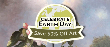 Earth Day Sale Event: 50% Off All Art!