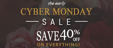Early Cyber Monday Deal: 40% Off Everything