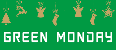 Green Monday: 50% Off Everything!