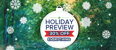 Holiday Preview Sale: 30% Off Everything