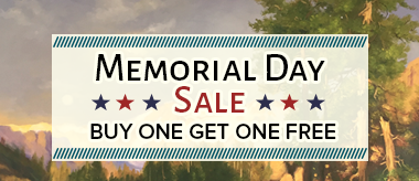 Buy One Get One Free - Memorial Day Sale!