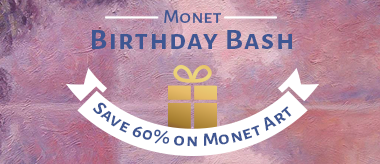 Monet Art Celebration: 60% OFF Monet Art Sale