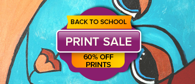 Back to School Big Canvas Prints Sale!