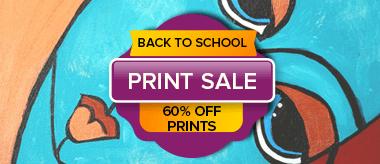 Back to School Big Canvas Prints Sale!