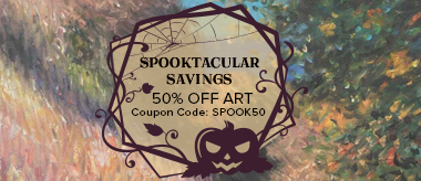 Spooktacular Sale: Save 50% Off All Art!