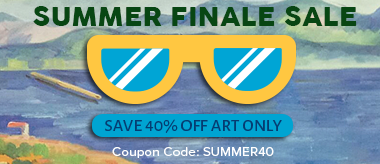 Summer Finale Sale: Save 40% Off Art!