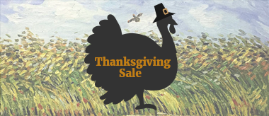 Thanksgiving Sale: 50% Off All Art