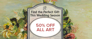 Wedding Days Sale - Give the Gift of Art!