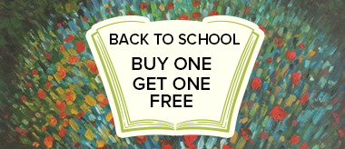 Back to School Buy One Get One Free Sale!