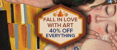 Fall in Love with Art: Save 40% Off Everything