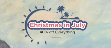 Christmas in July 40% Off Everything!
