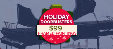 Cyber Days $99 Framed Art Doorbusters!