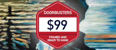 $99 Framed Art Doorbusters!