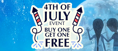 4th of July Buy One Get One Free Sale!