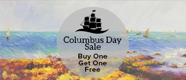 Columbus Day Buy One Get One Free Sale!