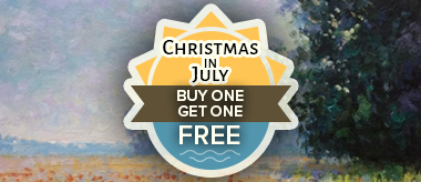 Christmas in July Sale: Buy One Get One Free!