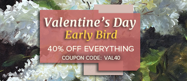 Early Bird Valentine's Day Sale: Save 40% Off Everything!