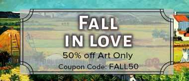 Save 50% Off All Art!