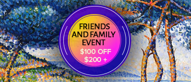 Friends & Family Sale: Save $100 Off Your Order
