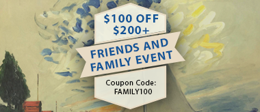 Friends & Family Event: Save $100 Off!