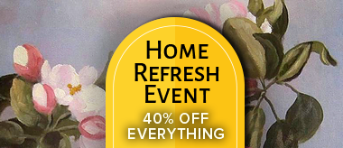 Home Refresh Sale: Save 40% Off Everything