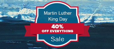 MLK Day Sale: Save 40% Off Everything