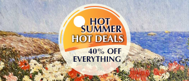 Hot Summer Deal: Save 40% Off Everything!