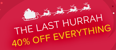 The Last Hurrah: 40% Off Art & Frames!