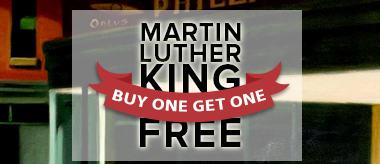 MLK Day Sale: Buy One Get One Free!