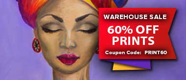 Warehouse Sale: Save 60% Off Canvas Prints!
