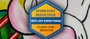 Inventory Reduction Sale: Save 40% Off Everything!