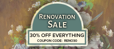 The Big Renovation Sale: Save 30% Off Everything!